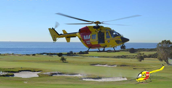 WestPac Helicopter Golf Day