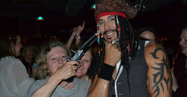 Jack Sparrow last seen at Retro Hotel