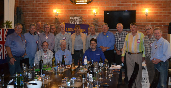 Guest Speaker at Lions Club