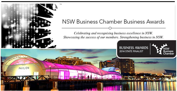 Finalist in the State chamber Business Awards
