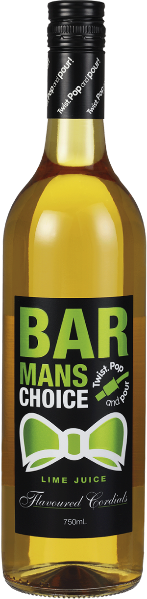 Barmans Choice Lime Cordial
